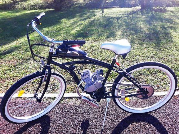 Bicicleta com motor 80 - Bina