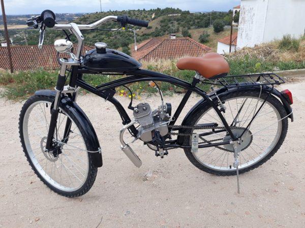 Bicicleta a motor Bina