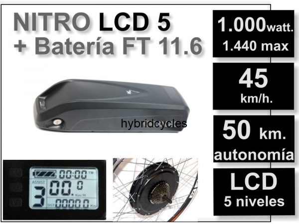 Kit eléctrico 1000watt - 48V
