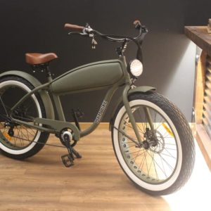 Bicicleta elétrica 250W / 36V - estilo vintage
